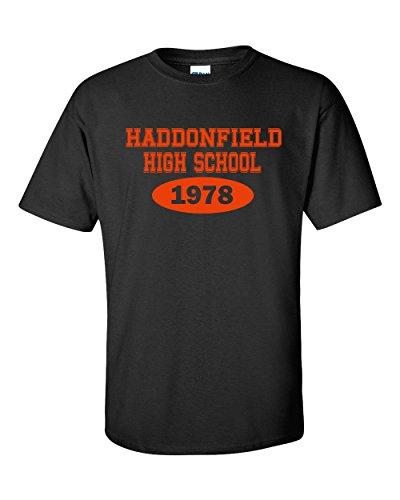 [Jacted Up Tees Haddonfield High School Halloween Men's T-Shirt - Med Black (495)] (Best Cult Halloween Movies)