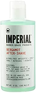 Imperial Barber Grade Products Bergamot After-Shave Alcohol Free by Imperial Barber