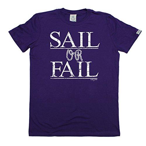 OB Premium - Men's Sail Or Fail (M - PURPLE) - Sail Fail