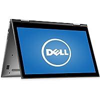 Dell Inspiron 15.6 2 in 1 Touchscreen Laptop Computer, Intel Dual Core i3-6100U 2.3GHz CPU, 4GB RAM, 500GB HDD, HDMI, USB 3.0, Webcam, 802.11ac Wi-Fi, Bluetooth, Windows 10 (Certified Refurbished)