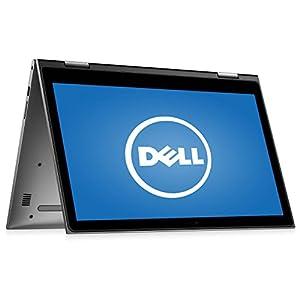 Dell Inspiron 15.6″ 2 in 1 Touchscreen Laptop Computer, Intel Dual Core i3-6100U 2.3GHz CPU, 4GB RAM, 500GB HDD, HDMI, USB 3.0, Webcam, 802.11ac Wi-Fi, Bluetooth, Windows 10 (Certified Refurbished)