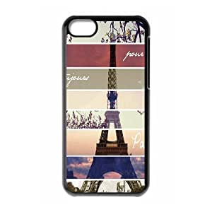 iPhone 5C Cell Phone Case , Pure and Fresh Theme Custom Phone Case