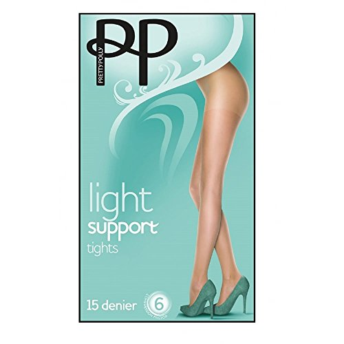 Pretty Polly Women's Everyday Plus Light Support Pantyhose medium-large (5'4