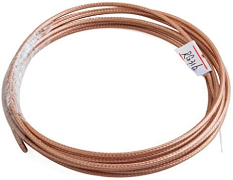 Cable coaxial blindado RG 316 50 Ohm RG-316 RF Coax Cable ...