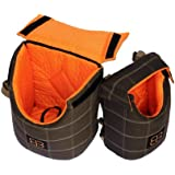 "Petego LENIS PACK Front Carrier / Back Pack Small Animal Pet Carrier. Size Large 10""L x 7.5""W x 14""H"