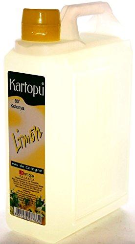 Kartopu - Limon Kolonya - Türk. eau de cologne (1000ml)