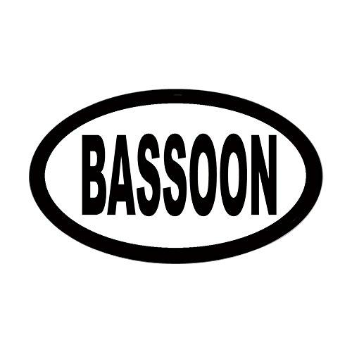 (CafePress Bassoon Oval Sticker Oval Bumper Sticker, Euro Oval Car Decal)