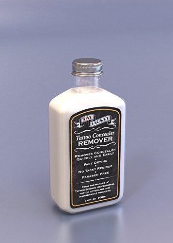 Tatjacket Concealer Remover, 3.4 Ounce