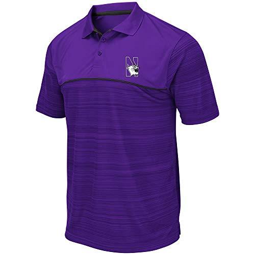 Mens Northwestern Wildcats Levuka Polo Shirt - M