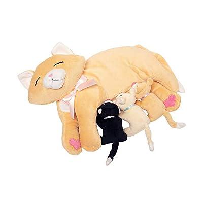 Manhattan Toy Nursing Nina Cat Nurturing Soft Toy: Toys & Games