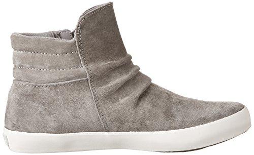 Keds Gray Zip Sneakers Wx Women's Suede Midtown Fashion rq0rpH