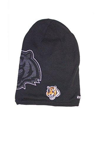 Reebok NFL Licensed Long Onfield Fleeced Lined Beanie Hat Cap Lid Toque (Cincinnati Bengals)