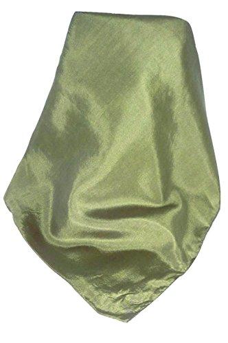 "Foulard de Soie ""Tabby Weave"" Emerald Gamme Heritage par Pashmina & Silk"