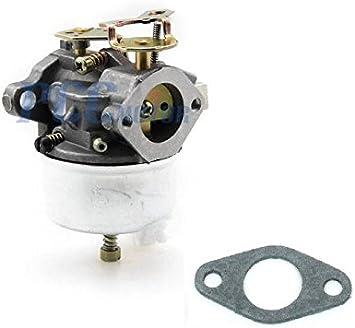 Carburetor fits Tecumseh 632113A 632113 fit HS40 HSSK40 I GCA80 SnowBlower Motor