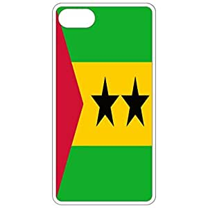 Sao Tome And Principe Flag - White Apple Iphone 6 (4.7 Inch) Cell Phone Case - Cover