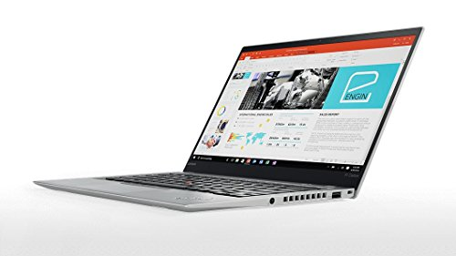 2017 Lenovo ThinkPad X1 Carbon 4G LTE (5th Gen) - Windows 10 Pro - Modern Silver - Intel Core i7-7600U, 1TB NVMe-PCIe SSD, 16GB RAM, 14'' WQHD IPS (2560x1440) Display, Fingerprint Reader by Lenovo