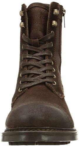 Base London Reivers - Botas Hombre Marrón (greasy suede brown)