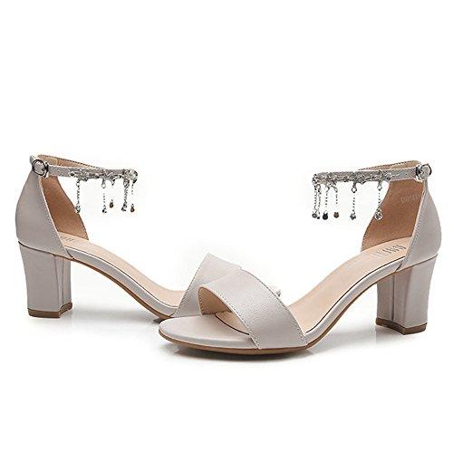 Alto De De Gray Tacón Mujer Diseño Señora Italiano De Tacón Sandalias Altos De Tacones Tacón Zapatos De De De Alto Aguja Sandalias 0x1qUqwa8