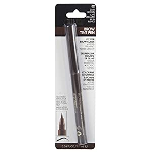 Milani Brow Tint Pen, Dark Brown, 0.04 Fluid Ounce