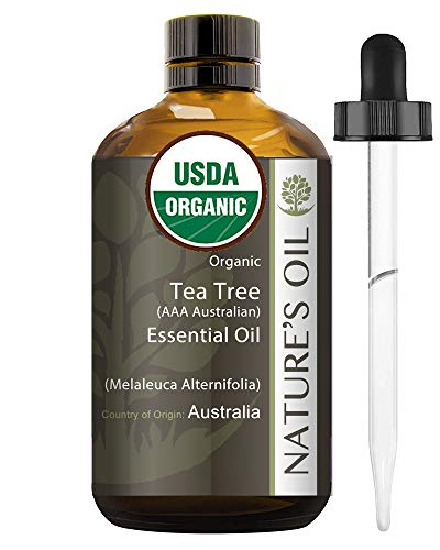 Best Tea Tree Essential Oil Pure Certified Organic Therapeutic Grade 60ml