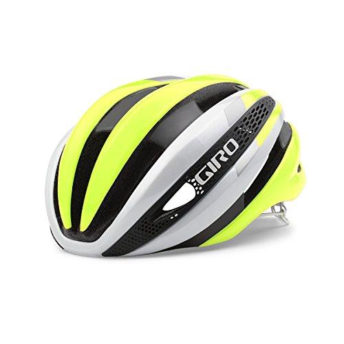 Giro Synthe Helmet White Highlight Yellow, L