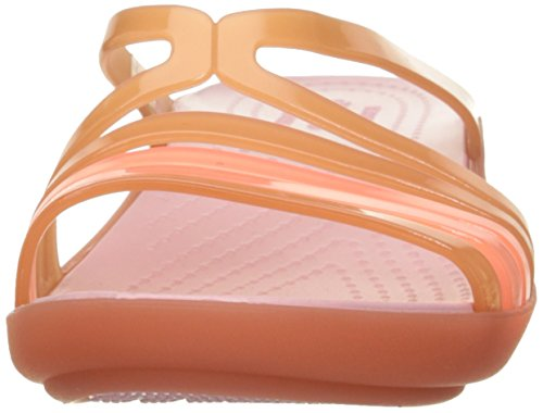Mini Women's Wedge Sandal Isabella W Corail Crocs IEdwZqRI