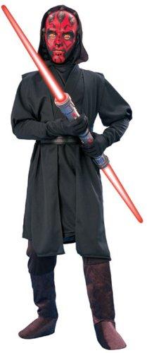 Star Wars Child's Deluxe Darth Maul Costume, Large