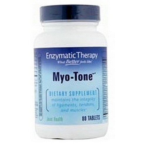 Enzymatic Therapy Myo-Tone, 80 Tabs (Pack of 8) by Enzymatic Therapy