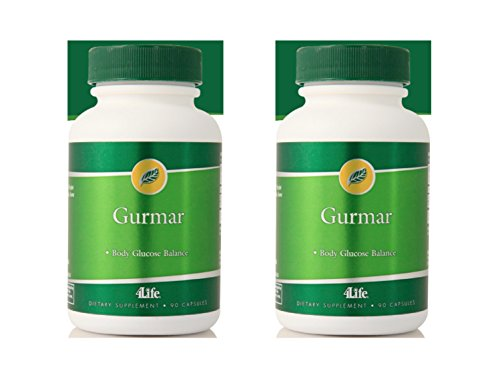 4life Gurmar with Curbs sugar appetite 90 capsules each pack of 2