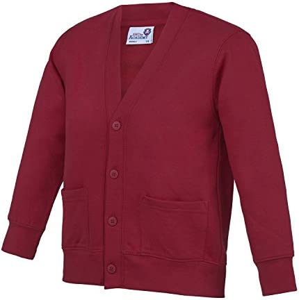 AWDis Academy Childrens//Kids Button Up School Cardigan