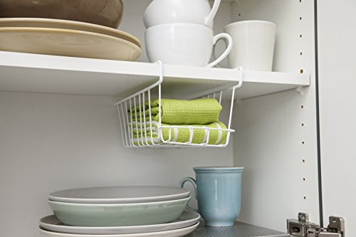 IRIS Small Undershelf Hanging Basket