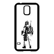 Boba Fett Design For Samsung Galaxy S5 I9600 Protective Black Case