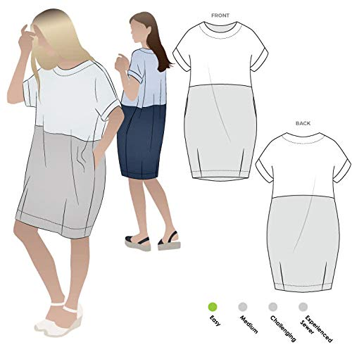Style Arc Sewing Pattern - EME Dress (Sizes 04-16) - Click for Other Sizes -