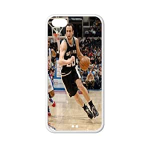 MEIMEI Exclusive Manu Ginobili plastic hard case skin cover for ipod touch 5 AB939283LINMM58281