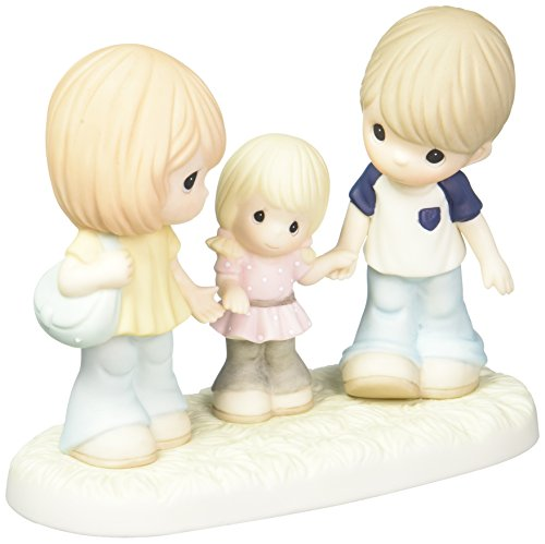 Precious Moments Family Is A Gift That Lasts Forever Bisque Porcelain Figurine (Family Porcelain Figurine)