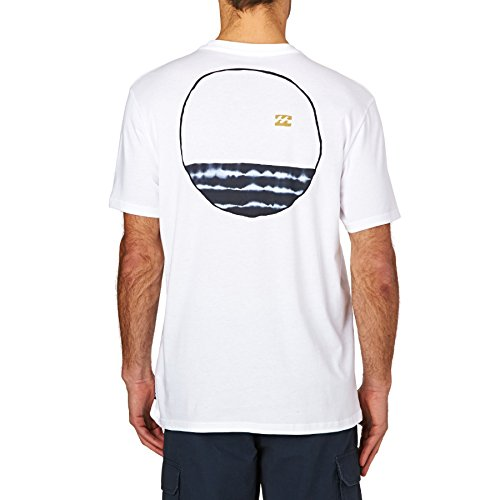 2017 Billabong Looper Tee WHITE C1SS21