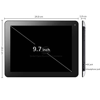 S20+ Android 4.1 3G Tablet PC 9.7 inch IPS Screen Dual Core 1.5GHz