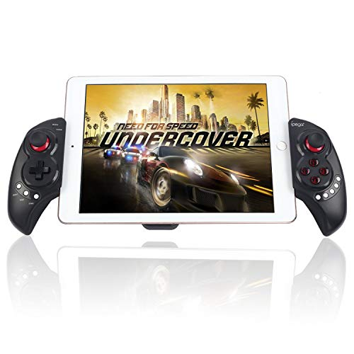 Bigaint PG-9023 Wireless Controller for Android, Telescopic Wireless Game Controller Gamepad Compatible with Android, Samsung, Window PC - Black