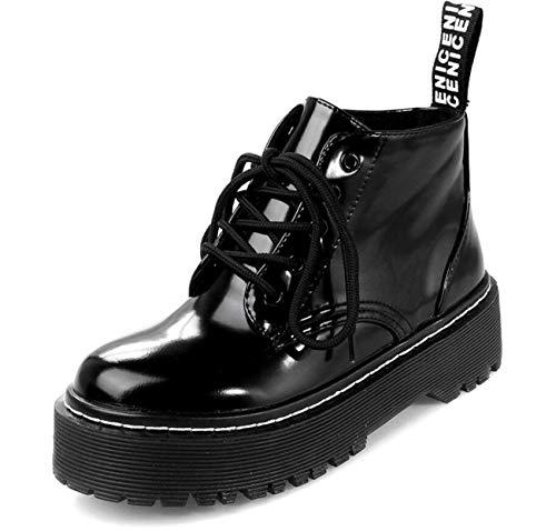 Martin Donna Velluto Boots Plus Nero Boot In Scarpe Da EUqw77
