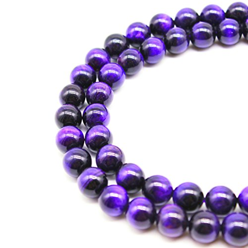 purple beads for jewelry making - 8