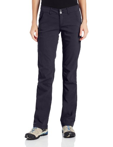 prAna Women's Halle Tall Inseam Pant, Black, 8