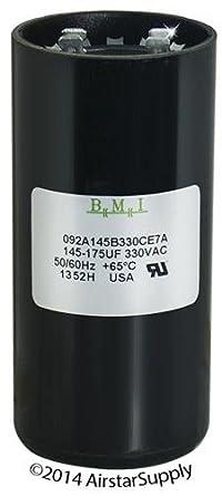 145uf-174uf AC MOTOR START CAPACITOR BMI Made in USA