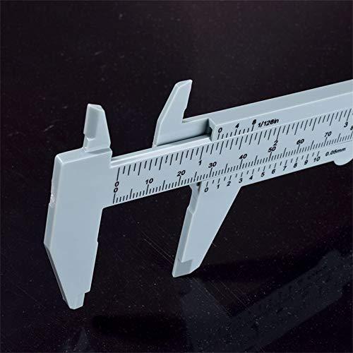 Wenwenzui-DE 150mm Wei/ß Kunststoff Tattoo Augenbraue Lineal Bar Pr/äzise Messen Werkzeuge Permanent Make-Up Zubeh/ör Liefert Ausr/üstung