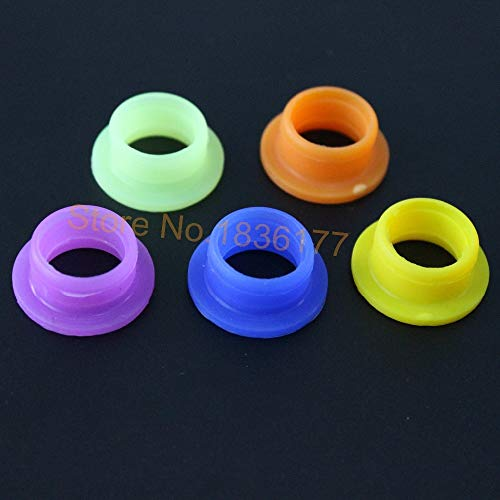 Huscus 5pcs/Lot Engine Silicone Exhaust Pipe Seal for RC Nitro Power Car Truck Buggy Truggy Parts for HSP Himoto etc.
