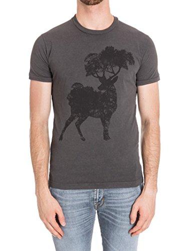 Dsquared2 Herren S74GD0290S20694816 Grau Baumwolle T-Shirt