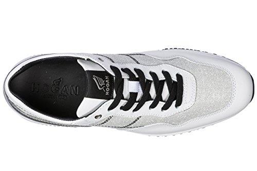 Hogan Vrouwen Schoenen Sneakers Damesschoenen Van Leer Sneakers Interactieve Wit