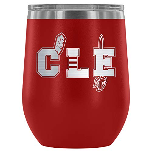 - Cleveland CLE Pride Wine Tumbler