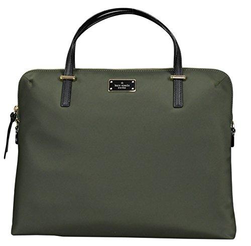 Kate Spade New York Daveney Wilson Road Laptop Shoulder Bag (Large) (evergeen)
