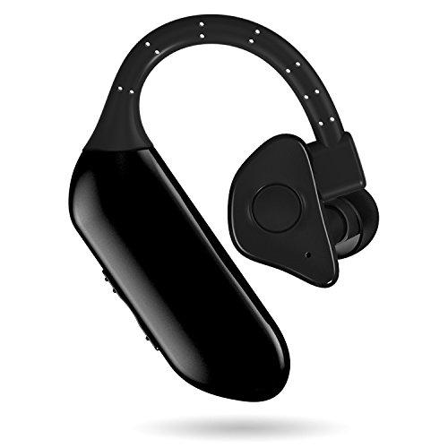 EXPIDEA Wireless Bluetooth Headphone Single Mini Earbud In-ear Hands-free Earpiece Built in Microphone Bluetooth v4.1 Dual Battery Separable Headset - Earpiece Single