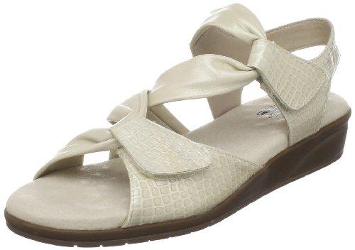 Walking Cradles Womens Valerie T-strap Sandal Bone